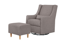 Babyletto Toco Swivel Glider and Ottoman