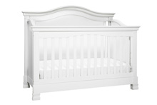 Million Dollar Baby Classic Louis 4-in-1 Convertible Crib White