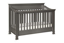 Million Dollar Baby Classic Foothill 4-in-1 Convertible Crib Manor Gray