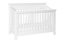 Million Dollar Baby Classic Foothill 4-in-1 Convertible Crib White