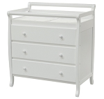 DaVinci Emily 3 Drawer Changer Dresser in White
