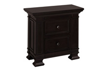 Million Dollar Baby Tillen Classic Nighstand Dark Espresso