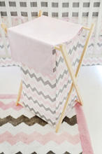 My Baby Sam Chevron Baby in Pink Hamper