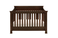 Million Dollar Baby Classic Foothill 4 in 1 Convertible Crib with Toddler Rail, Espresso