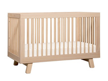 Babyletto Hudson 3 in 1 Convertible Crib in Washed Natural