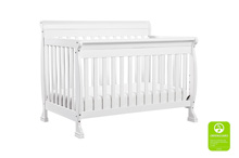 DaVinci Kalani 4 in 1 Convertible Crib with Toddler Bed Conversion Kit in White