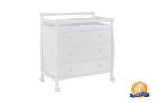 DaVinci Kalani 3 Drawer Changer Dresser in White