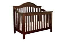 DaVinci Jayden 4-in-1 Convertible Crib with Toddler Rail, Espresso