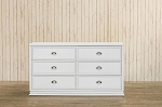 Franklin & Ben Mason Double Wide Dresser in White