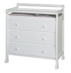 Million Dollar Baby Kalani 3 Drawer Changer in White
