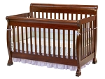 Million Dollar Baby Kalani 4 in 1 Crib in Cherry