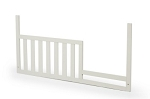 Munire Capri Toddler Guard Rail in White