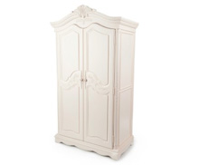 Munire Savannah Armoire in Linen