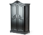 Munire Savannah Armoire in Onyx