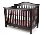 Munire Coventry Lifetime Convertible Crib in Espresso