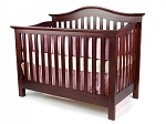 Munire Coventry Lifetime Convertible Crib in Sienna