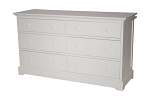 Munire Chesapeake Double Dresser in White
