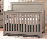 Munire Chesapeake Full Panel Convertible Crib in Grey