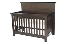 Munire Chesapeake Full Panel Convertible Crib in Merlot