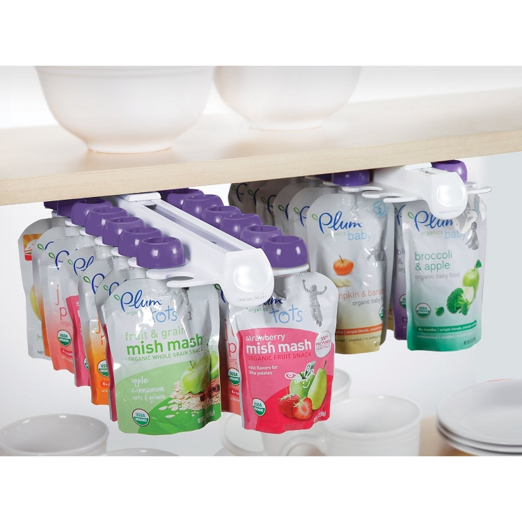 Munchkin Baby Food Pouch Organizer 2 Pack Ideal Baby