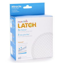 Munchkin LATCH™ Miracle™ Nursing Pads - 60 Pack