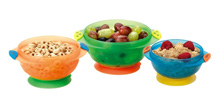 Munchkin 3 Pc Stay-Put Suction Bowls