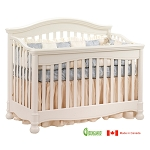 Natart Avalon 4 in 1 Convertible Crib in Linen