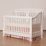 Romina Nerva Convertible Crib in Solid White