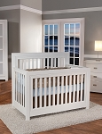 Pali Novara Forever Crib In White