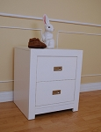 Pali Novara Nightstand in White