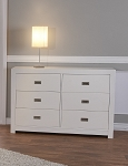 Pali Novara Double Dresser in White