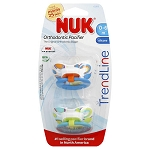 Nuk Natural Shape Orthodontic Pacifier 2 pk 0-6 Months