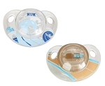 Nuk Advanced 2pk OrthoStar Silicone  Pacifier 0-6 BPA Free