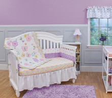 Nurture Imagination Wings 4 Piece Crib Bedding Set