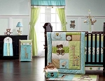 Kids Line Toyland 8 Piece Crib Bedding Set