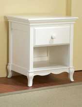 Pali Mantova Nightstand in White
