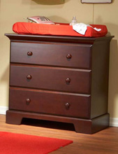 Pali Design Volterra 3 Drawer Dresser in Cherry