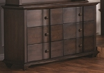 Pali Onda Double Drawer Dresser in Mocacchino