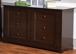 Pali Aria Double Drawer Dresser in Mocacchino
