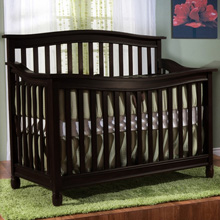 Pali Design Wendy Forever Crib in Onyx