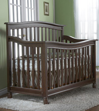Pali Wendy Forever Crib in Slate