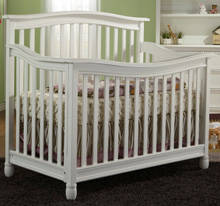 Pali Wendy Forever Crib in White