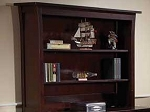 Pali  Bookcase Hutch in Chocolate