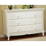 Pali Mantova Double Dresser in White