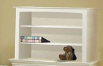 Pali  Bookcase Hutch in White