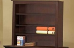 Pali Bookcase Hutch in Mocacchino