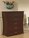Pali Trieste 5 Drawer Chest in Vintage Cherry