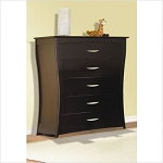 Pali Trieste 5 Drawer Chest in Mocacchino
