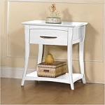 Pali Trieste Nightstand in White