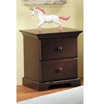 Pali Volterra Nightstand in White (Shown in Cherry)